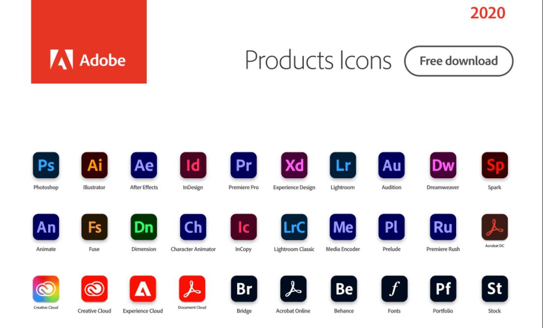 Produkty Adobe
