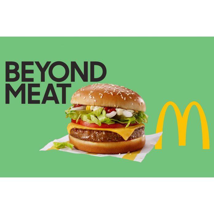 Beyond Meat a Mcdonald´s