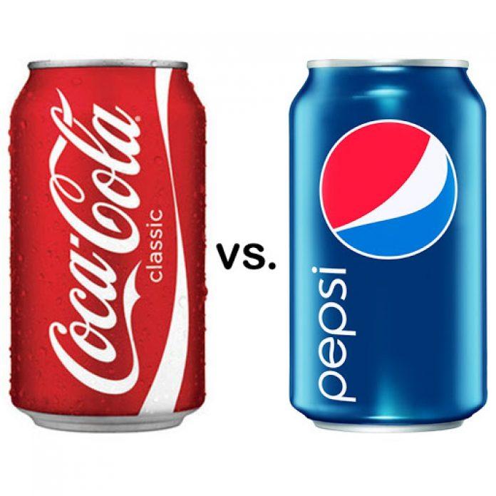 Akcie Coca-Cola vs. Pepsi
