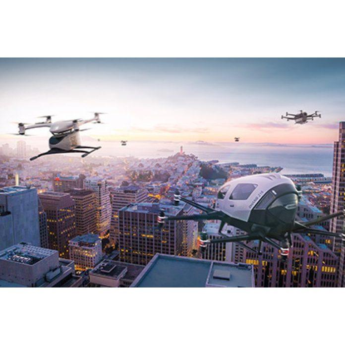 Akcie Ehang - drony
