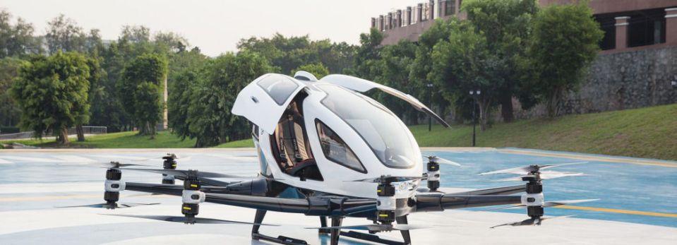 Akcie Ehnag - lietajúce drony
