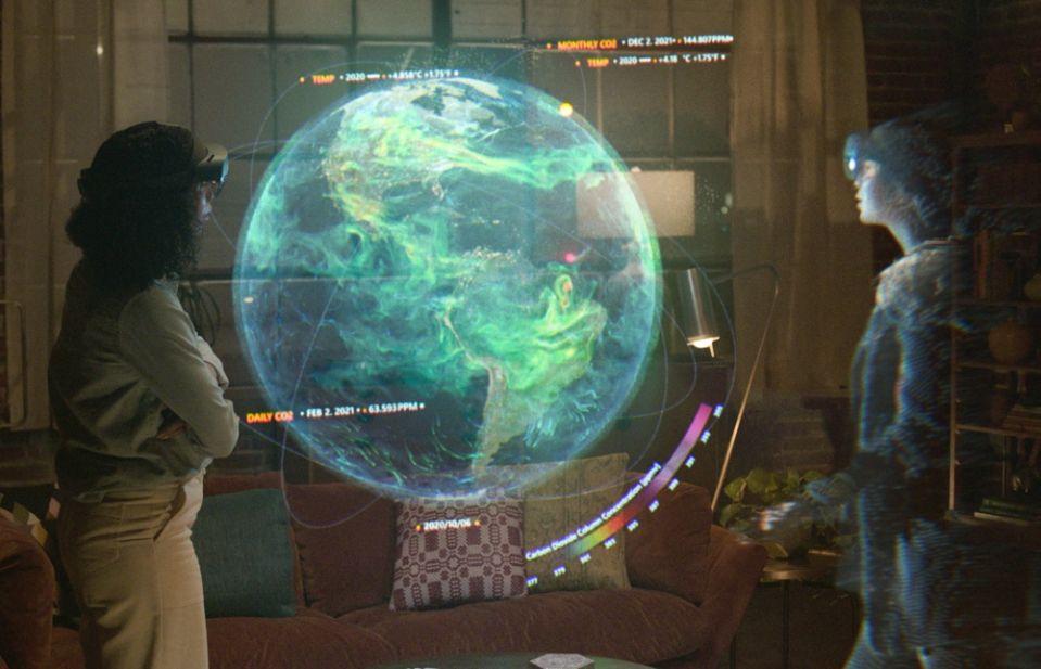 Microsoft Mesh - virtuálna realita
