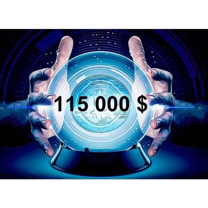 Bitcoin na 115 000 USD