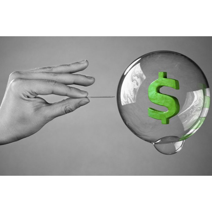 Akciové trhy bublina