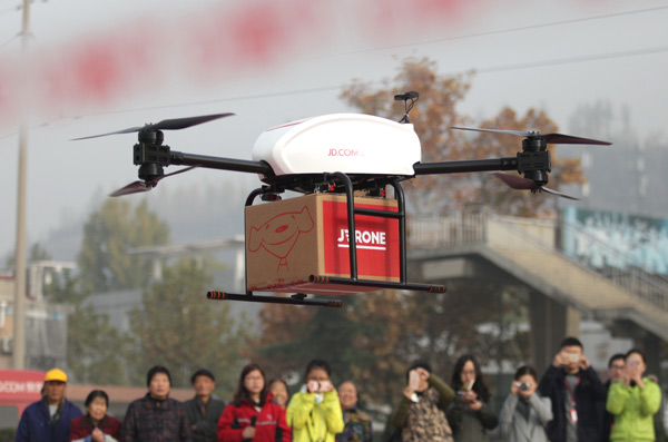 Donáškove drony od JD