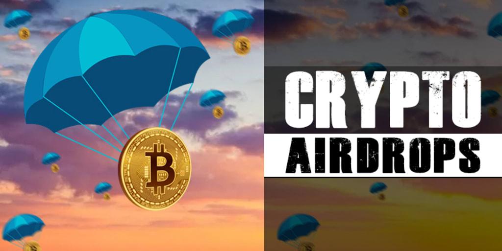 top kryptomenové airdrops