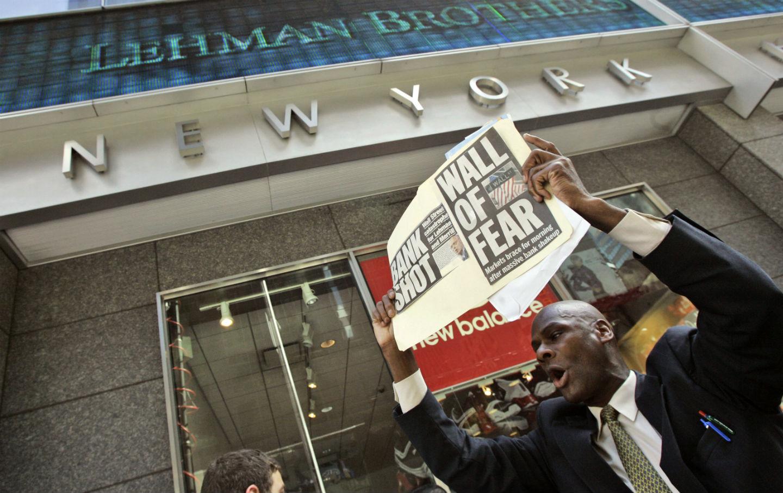 najväčšie krachy burzy na svete - Bankrot Lehman Brothers