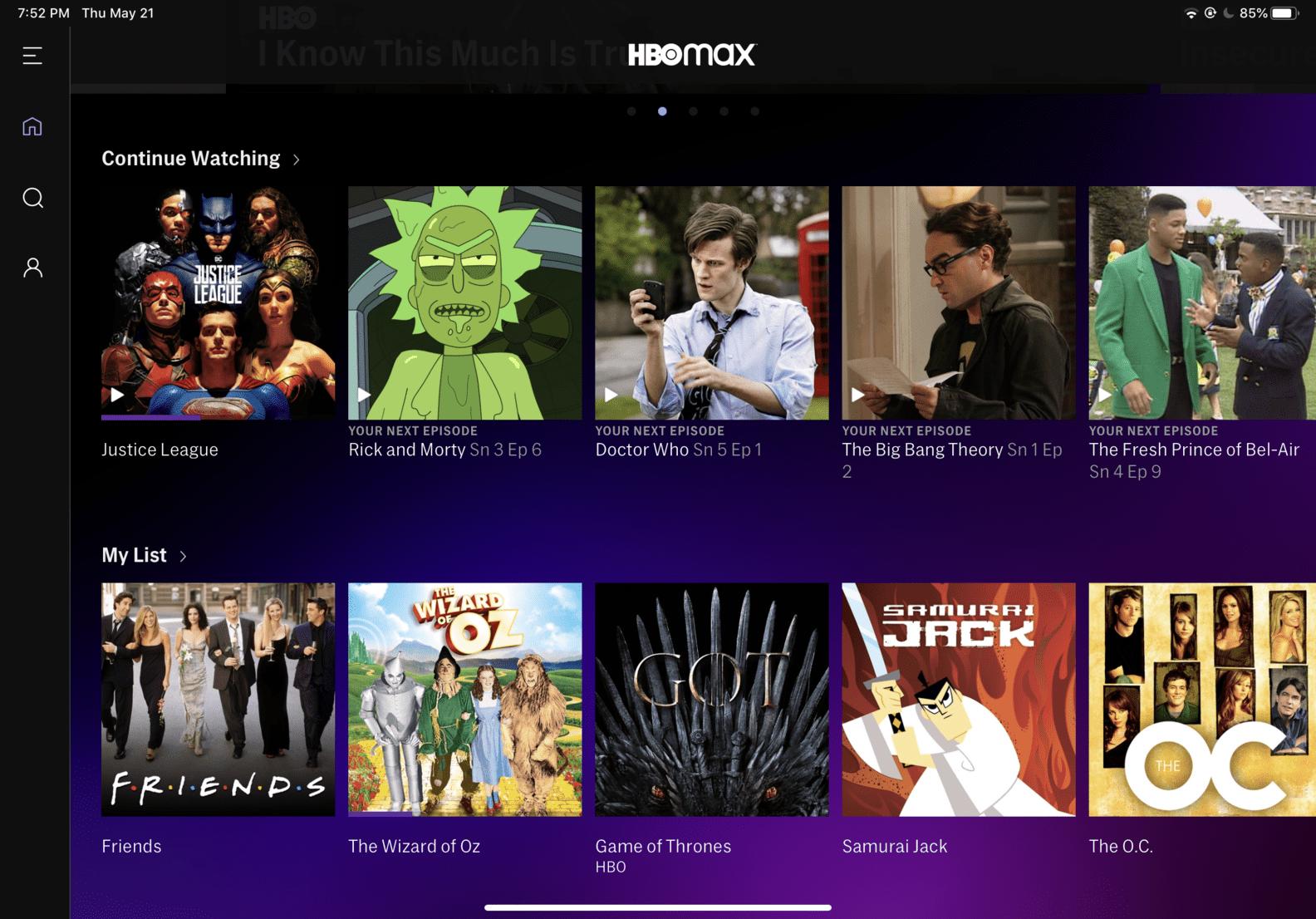 Streamovacia služba HBO Max