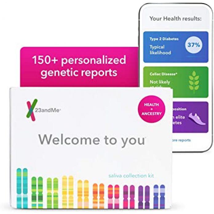 akcie 23andMe
