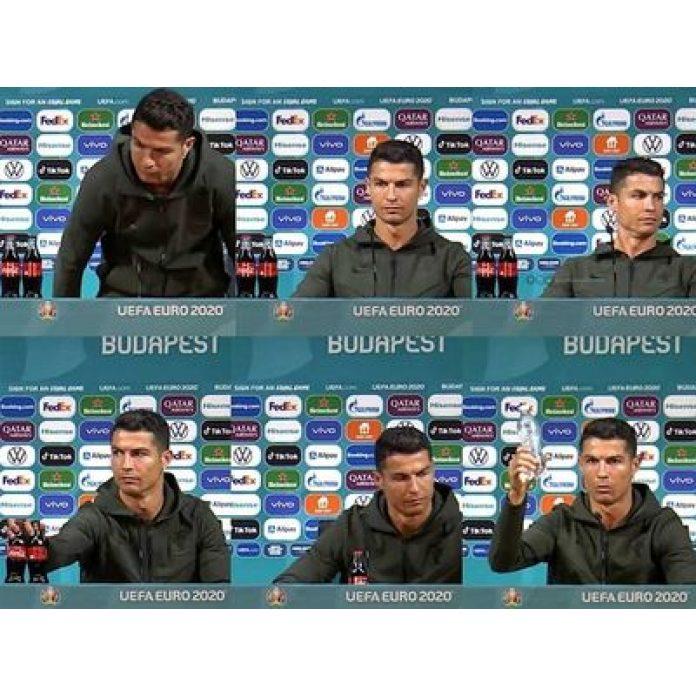 Ronaldov incident s Coca Colou