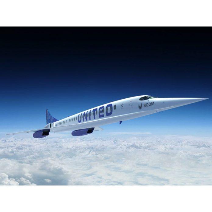 Letecká spoločnosť United Airlines nakúpila nadzvukové lietadlá Overture od Boom Technology
