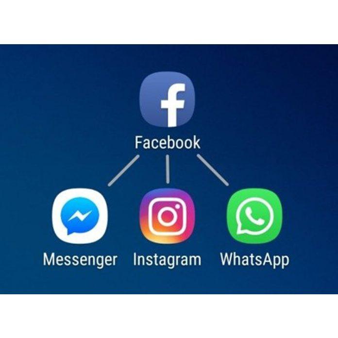 Facebook instagram whatsapp mesenger