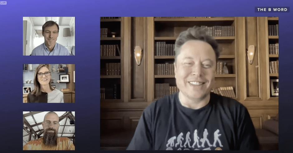 Elon Musk na konferencí B Word