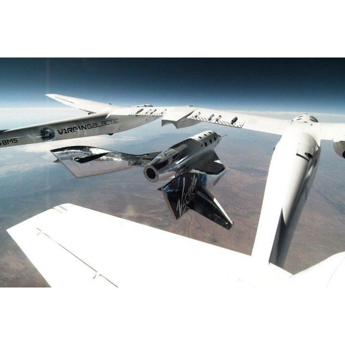 Virgin Galactic a úspešný let do vesmíru s R. Bransonom