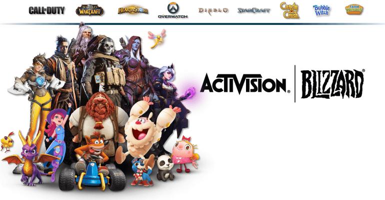 Akcie Activision Blizzard