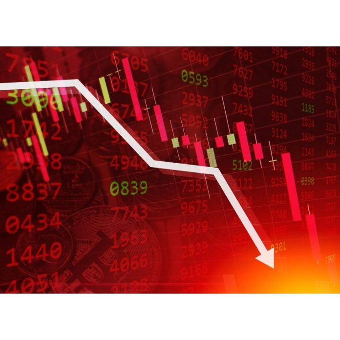Akcie pokles
